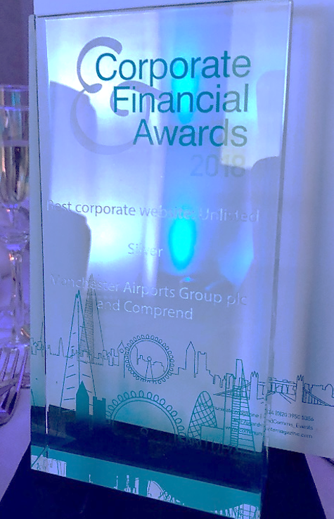 Corporate Financial Awards 2018