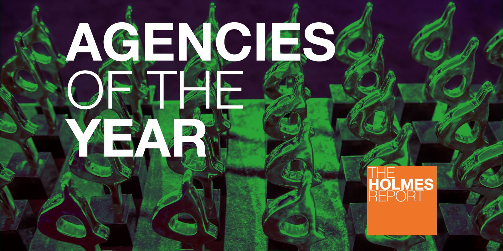 Holmes Report agencies of the year banner