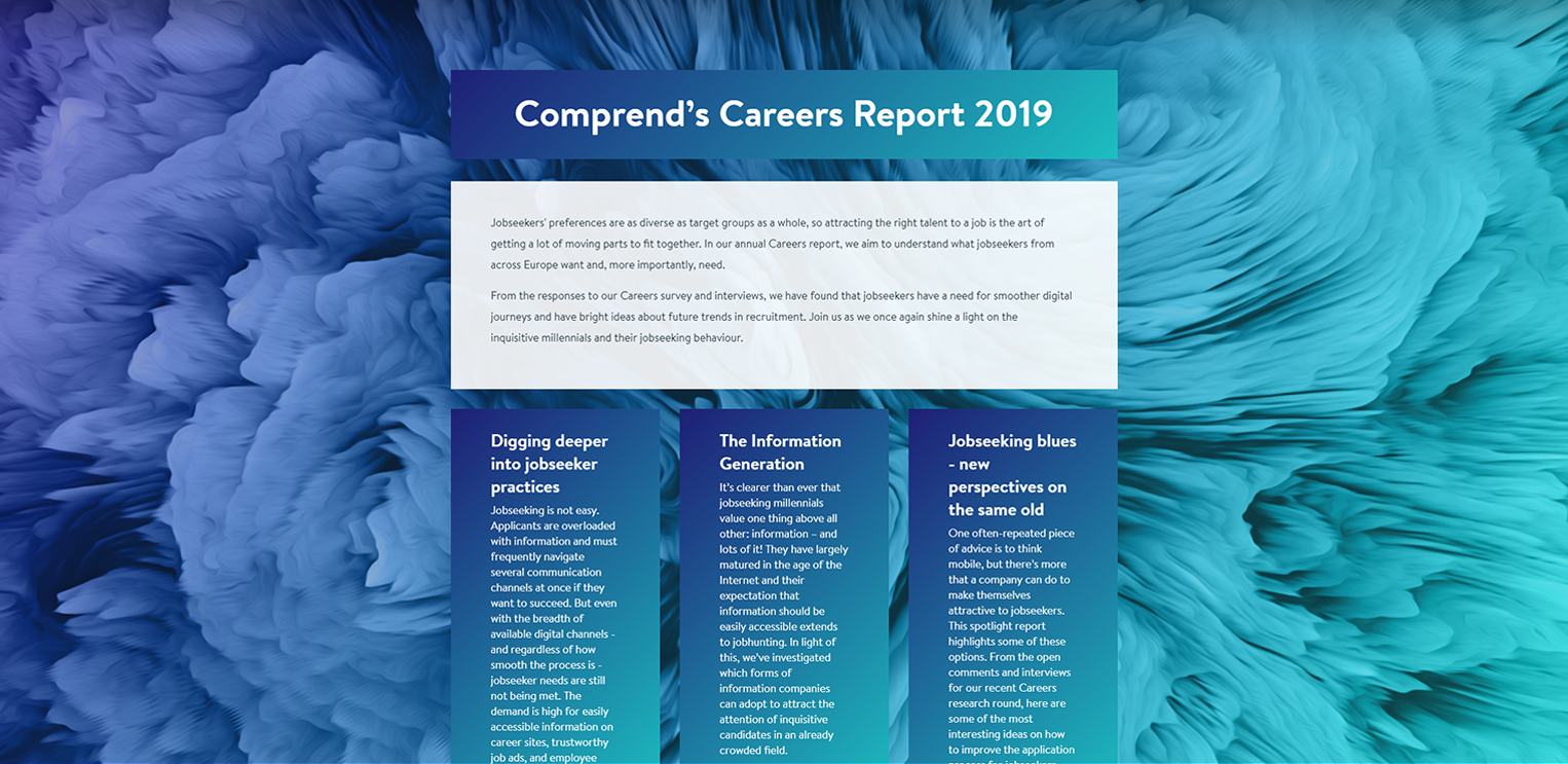 The Careers Report 2019 Is Live